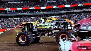 grave digger 30th anniversary monster truck max d fox sports science of the double back flip youtube