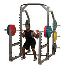 Squat Rack And Bench Power Racks Body Solid Fitness