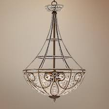 chandeliers for dining room interior elk lighting chandelier with floral arrangements and