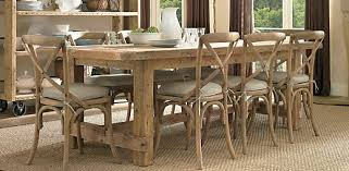 modern concept farmhouse style dining table and chairs with