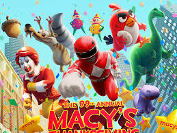macy s thanksgiving parade poster 2015 by yustas dribbble