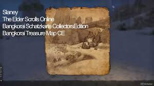 Stormhaven Ce Treasure Map Elder Scrolls Online Bangkorai Schatzkarte Collectors Edition