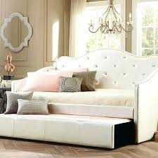 White Daybed With Pop Up Trundle White Wicker Daybed With Trundle U2013 Heartland Aviation Com