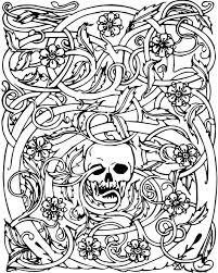 scary coloring pages to print awesome valuable halloween coloring
