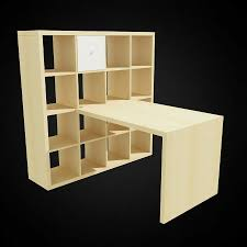 furniture ikea expedit bookcase and desk famous models for 3d