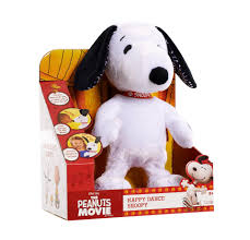 peanuts happy dance snoopy feature plush toys