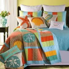 Coastal Quilts Tropical Themed Bedding Custom Set Furniture