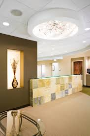 best office reception area decor ideas with wall brick and wood