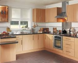 kitchen beech real wood kitchens birmingham beech slab fitted