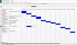 Creating A Spreadsheet Creating A Gantt Chart In Sheets With Regard To