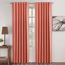 Blackout Curtains For Girls Room Amazon Com 99 Blackout Curtains Energy Efficient Solid 2 Panels