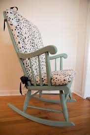 Rocker Cushions Diy Les Touches Upholstered Rocking Chair