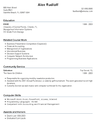experience resume template resume templates for no experience resume exles for no intended