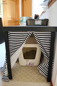 litter box side table black living room plan for side table side table litter box best cat