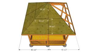 how to build a gazebo roof myoutdoorplans free woodworking
