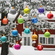 Decorations For Outdoor Christmas Tree by Home Design 85 Appealing Outdoor Christmas Tree Decorationss