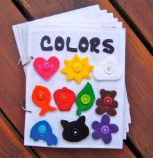colors toddler quiet book felt book busy por alwayssewinsomethin
