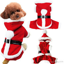 2018 Pet Clothing Stereo Christmas Suit Christmas Pet Clothes