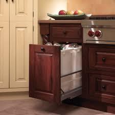 kitchen accessories white wooden decorative kitchen trash cans