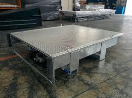 pedana di carico pedana di carico con zincatura a caldo armoweb