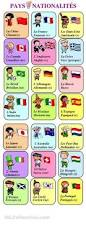 french language poster chart with colors in french