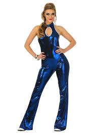 womens 70 u0027s disco fever jumpsuit