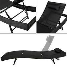 Reclining Patio Chairs by White Plastic Sun Lounger Patio Reclining Sun Bed Outdoor Deck
