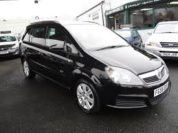 vauxhall zafira used vauxhall zafira mpv 1 6 i 16v active 5dr in cradley heath