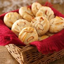 thanksgiving cookies recipes chinese almond cookies recipe taste of home