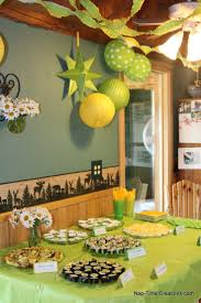 green baby shower decorations sariffthemed baby shower decorations for boys www nap