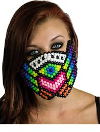 kandi mask plur warrior kandi mask kandi kandi mask and masking