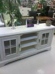 shabby chic entertainment center by thepinktoolbox on etsy