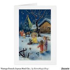 joyeux noel christmas cards vintage joyeux noel christmas card christmas cards and cards