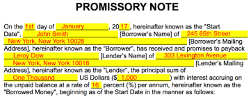 free promissory note templates word pdf eforms u2013 free