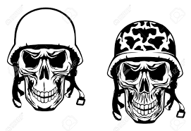 images of army skull graphics code sc
