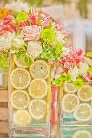 Vases For Floral Arrangements How To Use Fruit In Your Diy Flower Arrangements