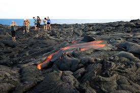 Hawaii national parks images Lava flow in hawaii 39 s volcanoes national park jpg