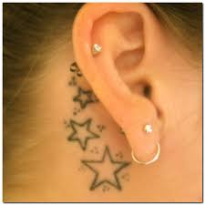 cover tattoo behind your ear stars behind the ear tattoos tattoos blog tattoos blog