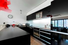 modern black and white kitchen black kitchens always beautiful pictures design ideas