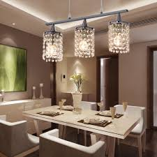 Glass Chandeliers For Dining Room Dining Room Ls Flush Mount Chandelier Table Lighting