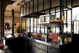 cuisine style loft industriel salle de bain type industriel