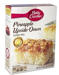 amazon com betty crocker pineapple upside down cake mix 21 5oz