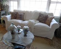 Pottery Barn Slipcover Sectional Furniture Slipcovered Sofa With Chaise Pottery Barn Sofa