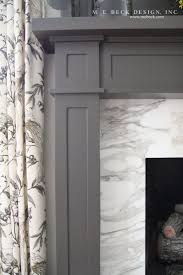 Painted Fireplaces Gray Painted Fireplace Decorating Idea Inexpensive Beautiful Under