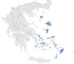 Turkey Greece Map by Aegean Islands Wikipedia