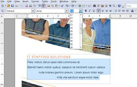 open office brochure template how to make a brochure in open office printaholic