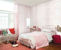 Quirky Bedroom Furniture by Pink White Girls Bedroom Interior Design Ideas