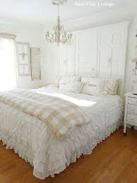 cream and white bedroom junk chic cottage cream and white guest room