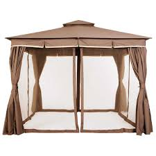 Outdoor Gazebo With Curtains by This Simple And Modern Garden Gazebo 3 Offers 3x3m Of Usable Space