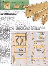 high chair plans u2022 woodarchivist